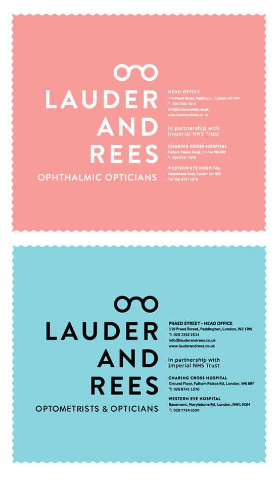 Lauder & Rees Optical Cleaning Cloths