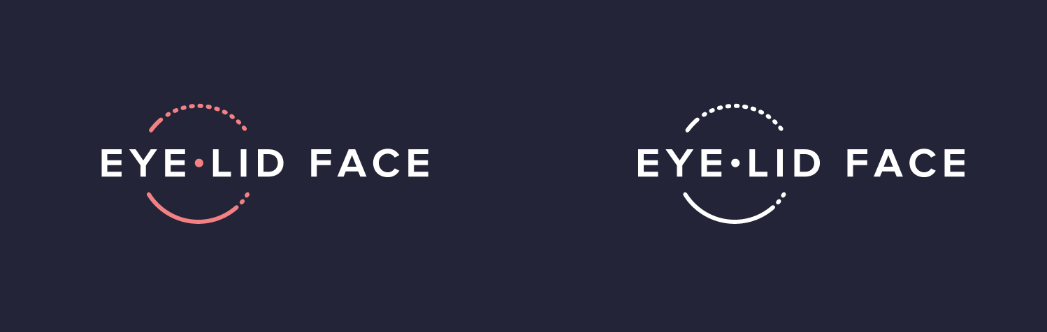Eye Lid Face Brand Identity Design