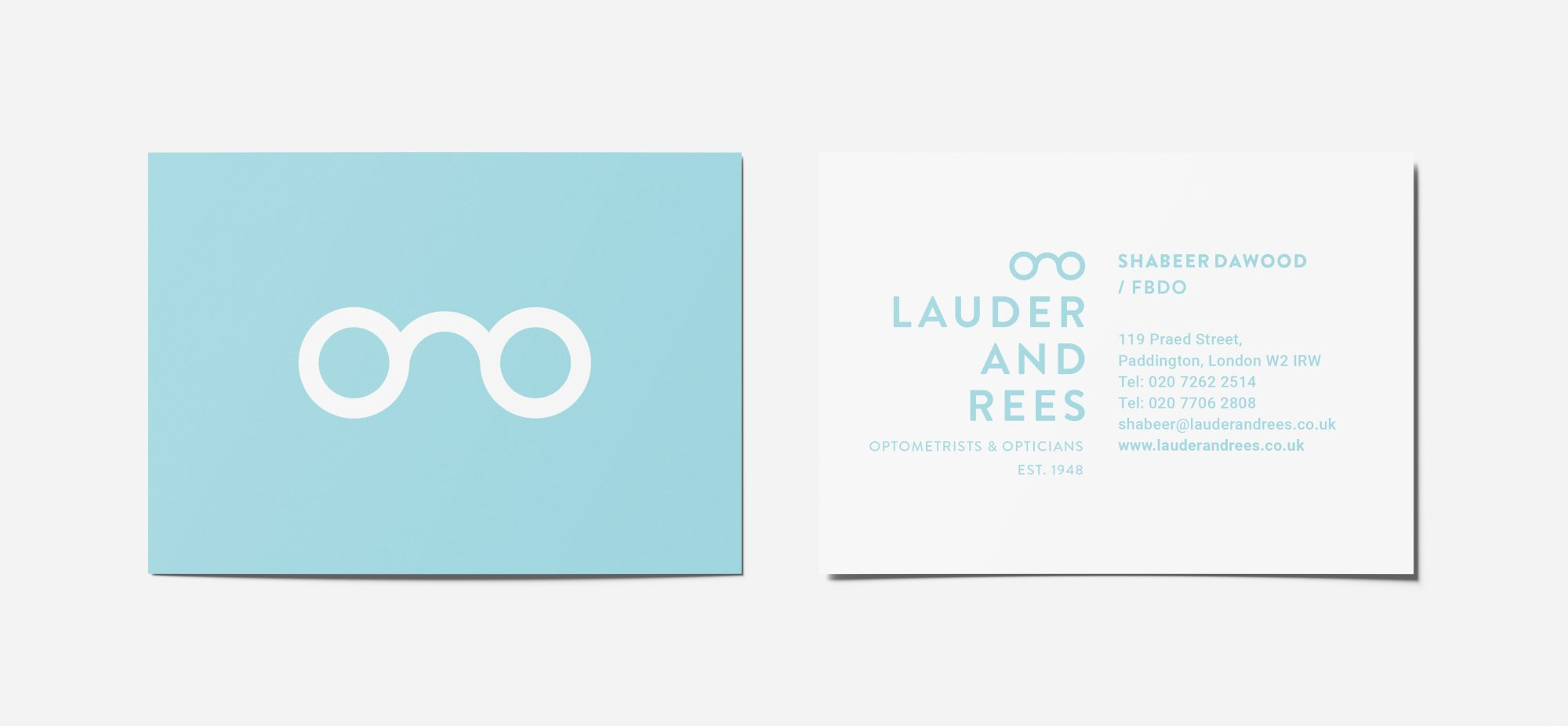 Lauder & Rees Business Cards