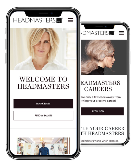 Headmaster Mobile-optimised Website Design & Build