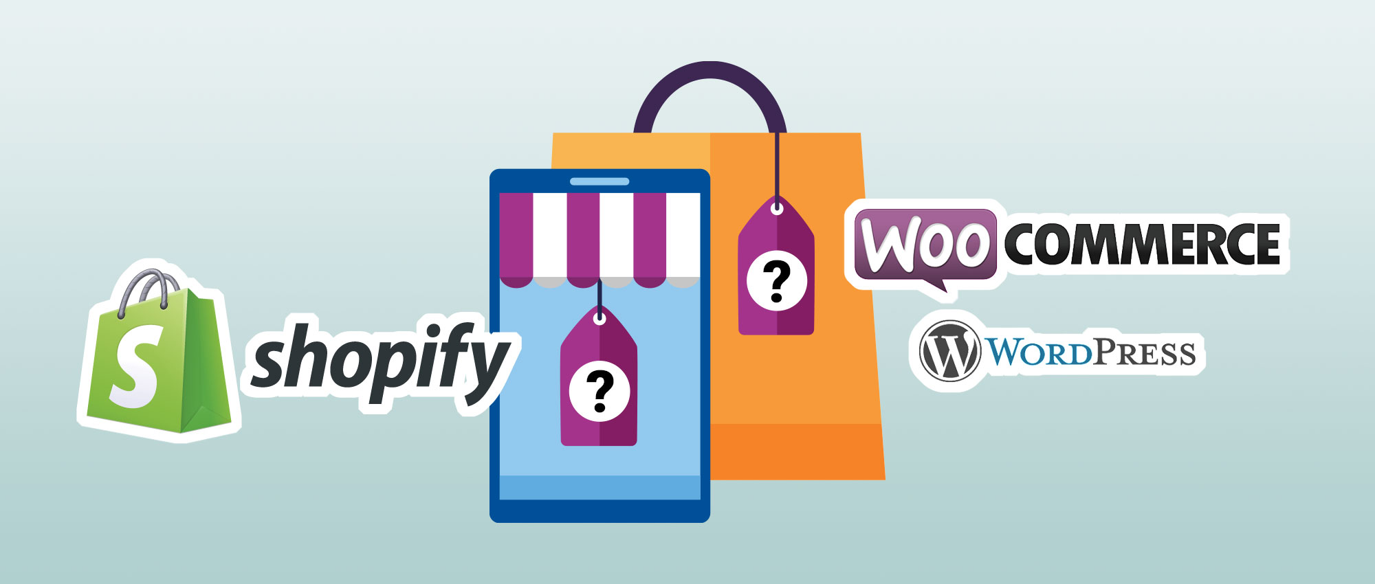 What are the differences between WordPress & Shopify eCommerce Websites?