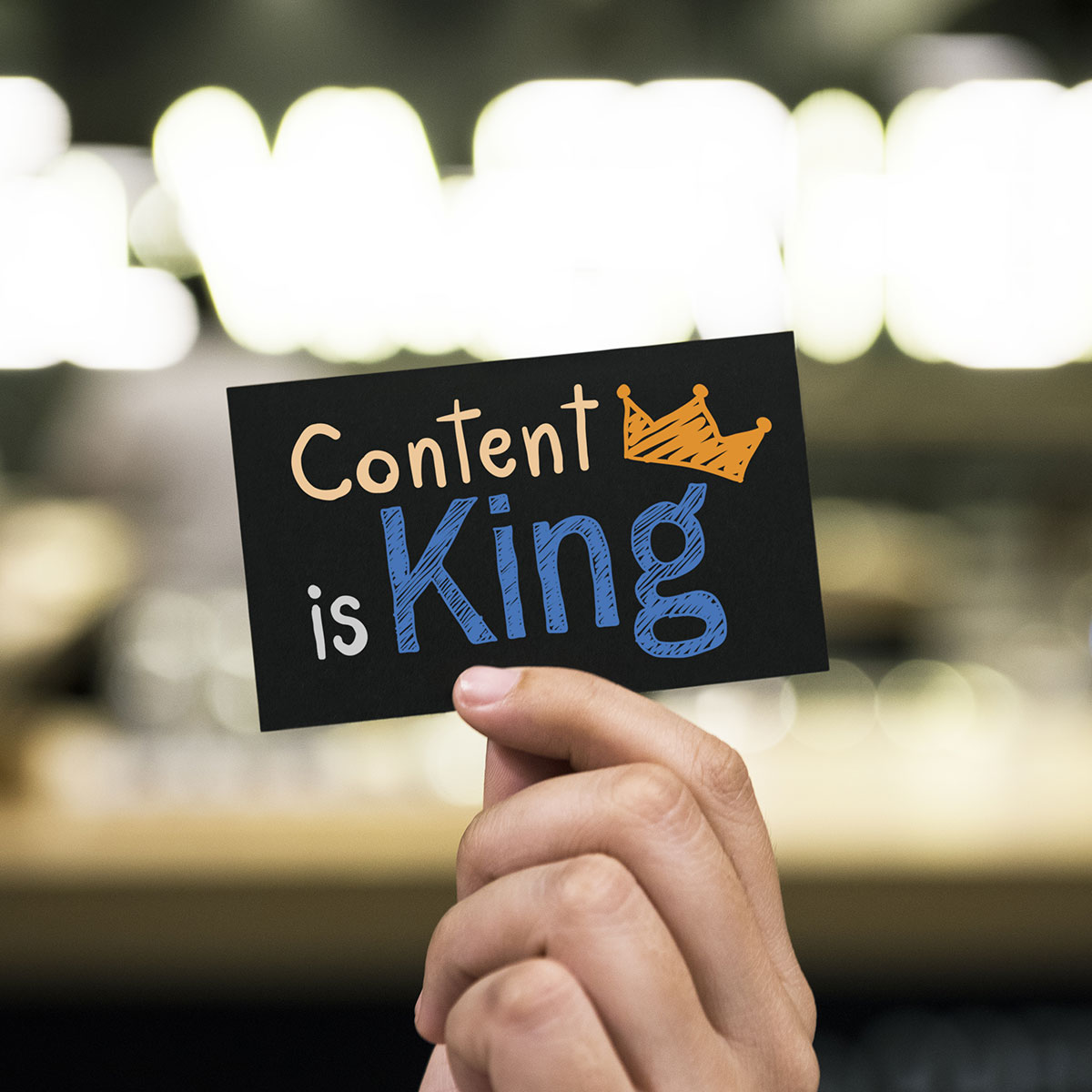 Great content is still king when it comes to SEO