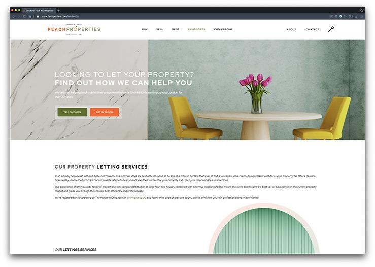 Estate Agent Website Design & Development