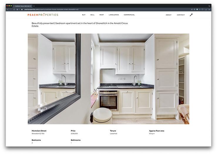 estate agent website crm data feed