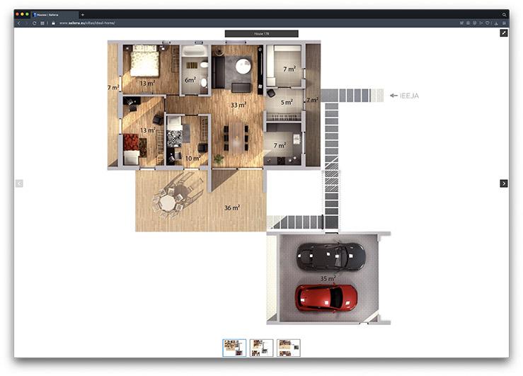 saliena property development floor plans